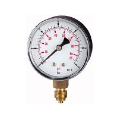 PRESSURE LINE Standardmanometer G 1/4 senkr. 50 mm 0-4 bar   104-KDE