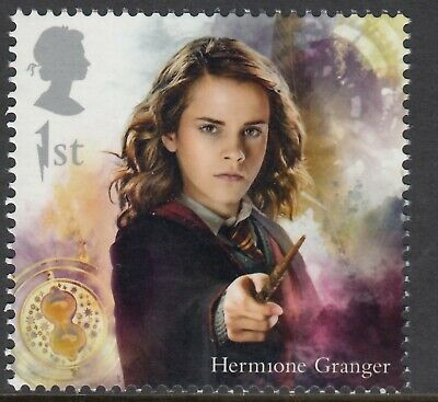 Harry Potter - Hermione Granger Illustrated  On  2018  Gb  Unmounted Mint Stamp