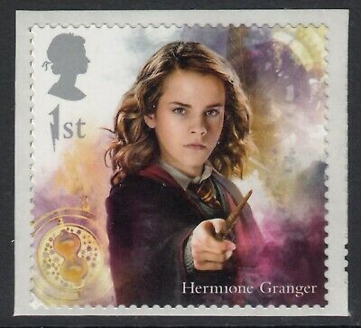 Harry Potter - Hermione Granger Illustrated On 2018 Gb  Self Adhesive Mint Stamp