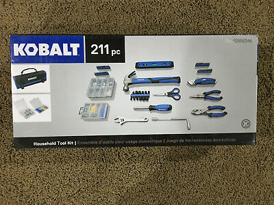KOBALT HOUSEHOLD Tool Set Mechanic Home Repair Strap Wrench