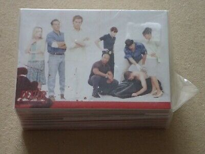 Dexter collector trading cards sealed pack