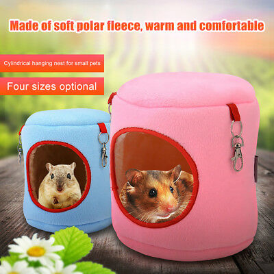 Pet Hamster Hanging Nest Cage House Warm Bed Rat Hammock Squirrel Winter Toys
