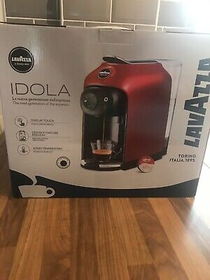 Lavazza Idola Black Coffee Machine - Brand New! With Two Free Boxes Of Pods