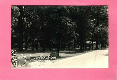 (8048) Rppc Postcard -  Crystal Beach - Coldwater Lake - Coldwater, Mich. -