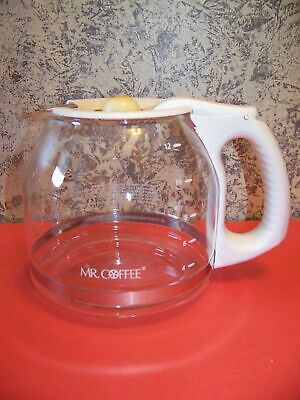 MR. COFFEE replacement coffee maker pot pourer 12 cup carafe teardrop shape used