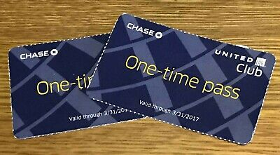 One United Club Pass. Expires August 13, 2019