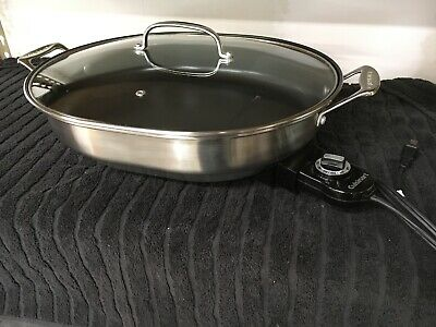 Cuisinart Electric Skillet, Model CSK-150, 16 x 13 skillet, non-stick countertop