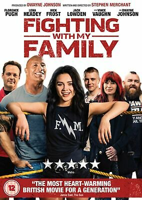 Fighting With My Family DVD Brand New