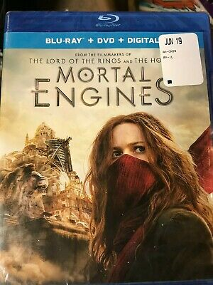 NEW / SEALED Mortal Engines [New Blu-ray] With DVD + Digital Copy
