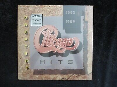 CHICAGO, Greatest Hits 1982-1989 [w/hype sticker] USA New Old Stock SEALED LP