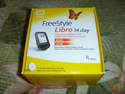 Freestyle Reader New Sealed Free Style Glucose Monitoring System Diabetes