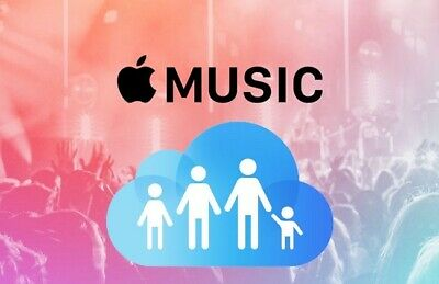 Apple Music 4-Month FAMILY Subscription **add up to 6 individuals**
