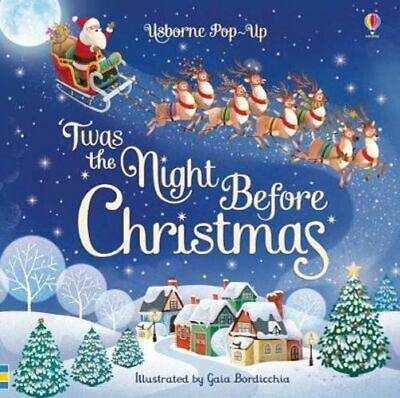 NEW Pop-Up 'Twas The Night Before Christmas By Susanna Davidson Board Book