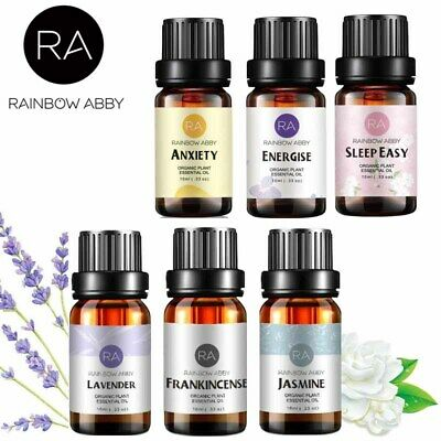 RAINBOW ABBY 100% Pure Essential Oil For Therapeutic Aromatherapy Massage 30ml