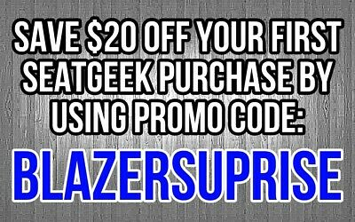 Great Discount for Sports Tickets - Save $20 on any Purchase!!!