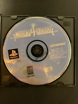 Mortal Kombat 4 Sony PlayStation 1 PS1 Disc Only Midway 1997