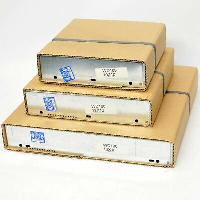 """NEW (Lot of 3) Greenheck WD100 Backdraft Dampers 10""""x 10"""", 12""""x 12"""", 16""""x 16"""""""