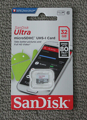 SanDisk Micro SD Card 32GB 64GB TF Class 10 Mobile Smart Phone Camera Memory