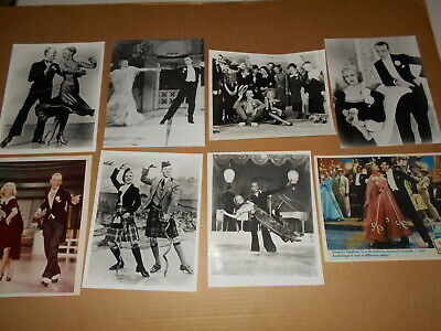Fred Astaire Ginger Rogers 8 Photos Follow The Fleet Barkleys Of Broadway Others