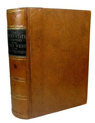 CALIFORNIA San Francisco GOLD RUSH 1872 Pioneer INDIAN Mormon OLD WEST Yosemite