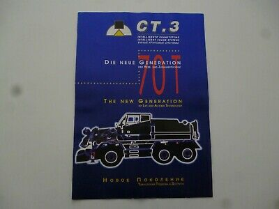 Ct 3 Intelligent Crane Systems Mobile Cranes Compact Truck Brochure *As Pictures