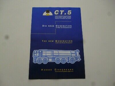 Ct 5 Intelligent Crane Systems Mobile Cranes Compact Truck Brochure *As Pictures