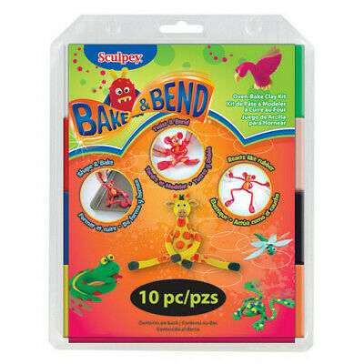 Polyform Products Company Fx4004 Sculpey Bake And Bend Set