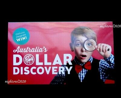 Australia 2019 $1 One Dollar Discovery Collectors Coin Folder with magnifier.