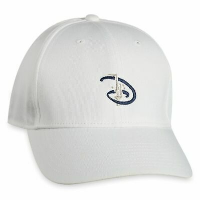 Disney Parks Nike Dri Fit Castle White Golf Baseball Cap Hat NEW WITH TAGS