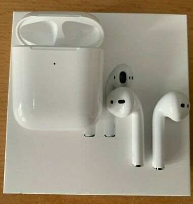 Apple AirPods 2. Generation (MRXJ2ZM/A) mit kabellosem Ladecase