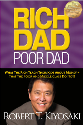 [EBOOK] Rich Dad Poor Dad by Robert Kiyosaki - DIGITAL - [eB00k] [pdғ]
