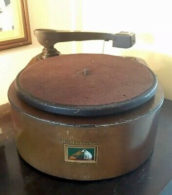 HMV 122 Electric Gramophone 1930s - Vintage Audio