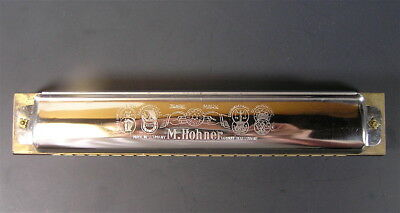 Antique Hohner Reingold Harmonica, Mint 7 1/4""