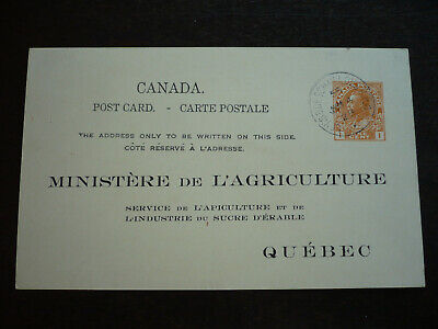 Postal History - Canada - Scott# UX29j on Postcard to Quebec