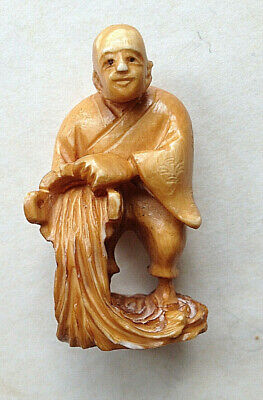 AUTHENTIQUE ET ANCIEN NETSUKE JAPON DEBUT 1900 l'eau