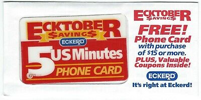 Eckerd Drug Phone Card