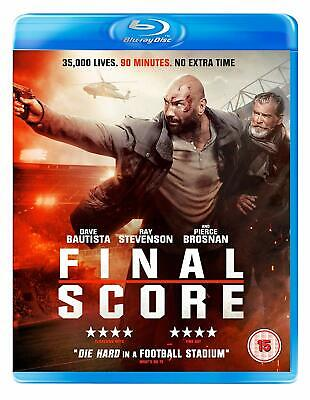 Final Score [Dvd] Blu-Ray Action Movie Dave Bautista Ray Stevenson New Sealed