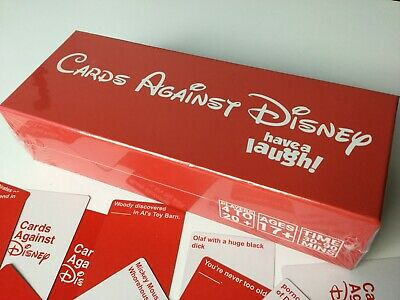 New SEALED Cards Against DISNEY 828 Cards ORIGINAL RED PACK Limited Edition
