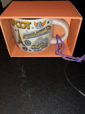 Disney Starbucks Epcot Been There Series Ornament Mug - 2019 - Disney Parks