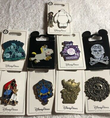 Disney Authentic 10 Pin Trading/collector Pin Set (  A - 39 )