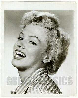 Marilyn Monroe Clash By Night 1952 Beautiful Vintage Photograph