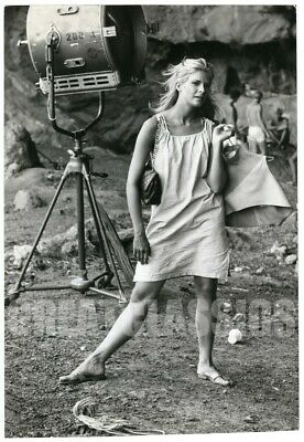 Candice Bergen Day The Fish 1967 Vintage Original Photograph Peter Basch Signed