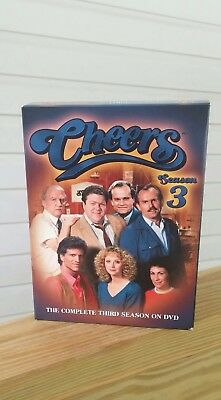 Cheers-The Complete Third Season 3(Dvd, 2004, 4-Disc Set)Ted Danson George Wendt