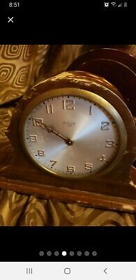 Antique Gilbert 1807 Time & Strike 8 Day Mantle Clock WORKS NICE CABINET