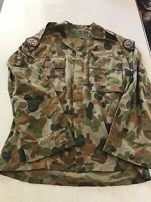 Australian Army Cadets AAC old style Auscam DPCU shirt size 22Field Jacket