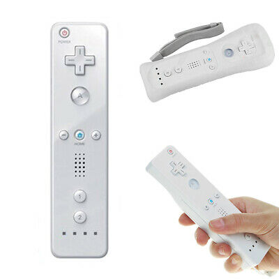 Wiimote Built in Motion Plus Inside Remote Controller For Nintendo Wii White AU
