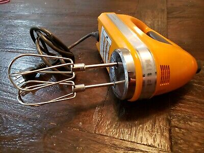 KitchenAid hand mixer 9 Speed Tangerine Color Very Powerful