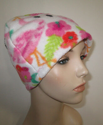 0cb0a0409 CHEMO HAT WOMENS Winter Hat Flamingos Cancer Hat, Alopecia - EUR 8 ...