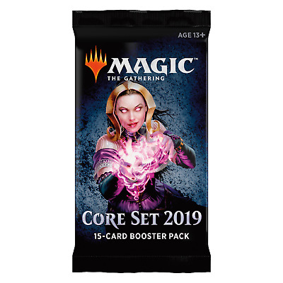 MTG - Core Set 2019 - Booster Pack (Factory Sealed), English. Flat Shipping