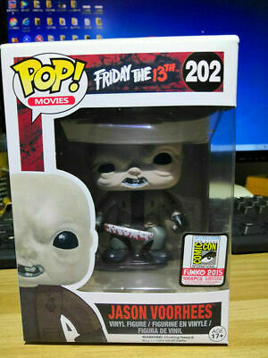 Pop Friday the 13th Jason Voorhees SDCC 2015 Unmasked Vinyl Figure #202 Toy